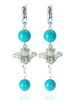 Серьги Summer Bouquet (Mint) Alerie-Accessories