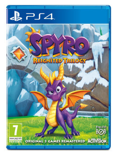 Spyro Reignited Trilogy [PS4, английская версия] Activision