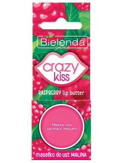 Масло для губ Малина, 10г, CRAZY KISS BIELENDA