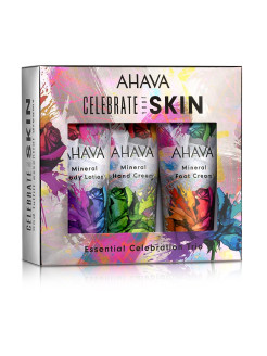 Набор Deadsea Water Body trio классика, limited edition AHAVA
