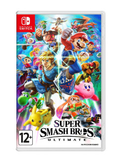 Игра Nintendo Switch на картридже Super Smash Bros. Ultimate NINTENDO