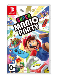 Игра Nintendo Switch на картридже Super Mario Party NINTENDO