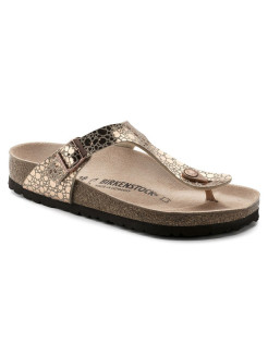 Пантолеты Gizeh BF Metallic Stones Copper Narrow BIRKENSTOCK