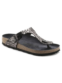 Пантолеты Gizeh BF Metallic Stones Black Narrow BIRKENSTOCK