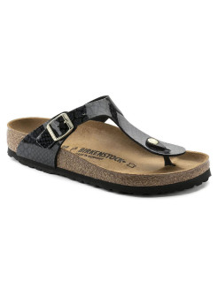Пантолеты Gizeh BF Magic Snake Black Narrow BIRKENSTOCK