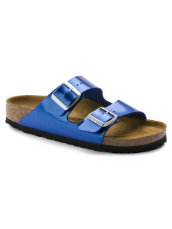 Биркенштоки Arizona BF Electric Metallic Ocean Narrow BIRKENSTOCK