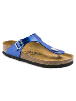 Пантолеты Gizeh BF Electric Metallic Ocean Narrow BIRKENSTOCK