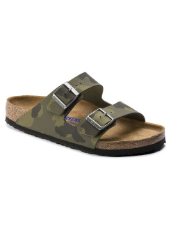 Биркенштоки Arizona SFB BF Desert Soil Camou Green Regular BIRKENSTOCK