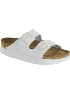 Биркенштоки Arizona Platform BF White Narrow BIRKENSTOCK