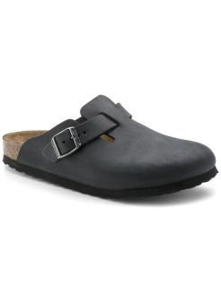 Сабо Boston FL Schwarz Narrow BIRKENSTOCK