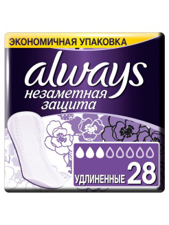 Sanitary pads, 28 pcs., for critical days Always