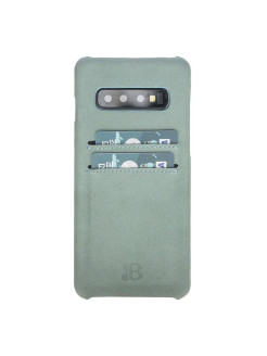 Кожаный чехол-бампер для Samsung Galaxy s10 Ultimate Jacket CC Burkley Burkley
