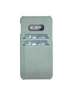 Кожаный чехол-бампер для Samsung Galaxy S10E/10 Lite Ultimate Jacket CC Burkley Burkley
