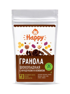 "Гранола ""Шоколадная"" Happy Monkey"