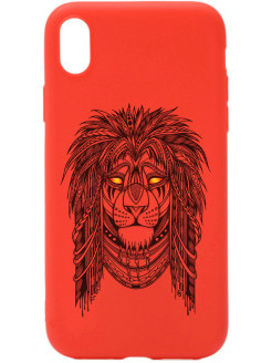 Чехол XR Soft Touch Art Grand Leo для Apple iPhone XR GOSSO CASES