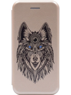 Чехол-книжка XR Book Art Jack Grand Wolf для Apple iPhone XR GOSSO CASES