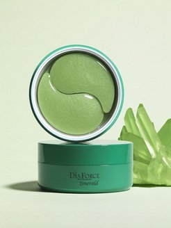 Гидрогелевые патчи Kims Dia Force Emerald Hydro-Gel Eye Patch Kims