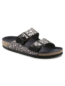 Биркенштоки Arizona BF Metallic Stones Black Regular BIRKENSTOCK