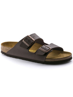 Биркенштоки Arizona BF Dunkelbraun Regular BIRKENSTOCK