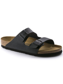 Биркенштоки Arizona BF Schwarz Regular BIRKENSTOCK