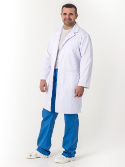 Medical gown, for maternity hospital, finger slots, postoperative ARTOS