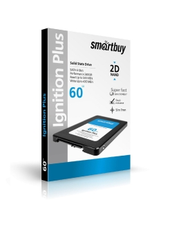 "SSD-накопитель Ignition PLUS 60Gb, 2.5"" Smartbuy"