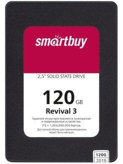 "SSD-накопитель Revival 3 120Gb, 2.5"" Smartbuy"