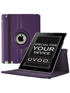 "IPad 2/3/4 ""ROTATOR 360"" swivel case. Smart stand for tablet Aypad 2/3/4 UVOO"