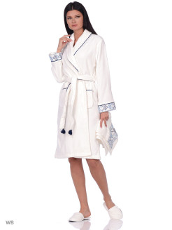 Set Bathrobe 3 subject Harem Ecocotton