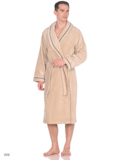 Maritime bathrobe Ecocotton