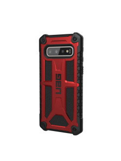 Protective Case UAG Monarch for Samsung Galaxy S10 color red UAG