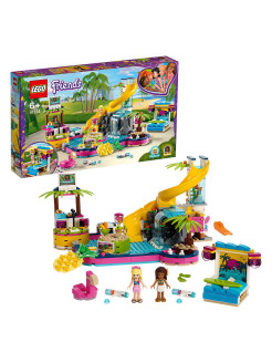 Designer LEGO Friends 41374 Andrea's Poolside Party LEGO