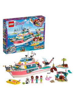 Constructor of LEGO Friends 41381 Boat for rescue operations LEGO