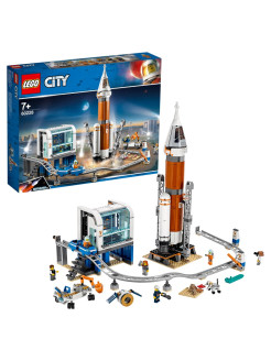 Constructor LEGO City 60228 Space Rocket and Launch Control Point LEGO