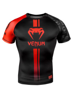 Рашгард Logos Black/Red S/S Venum