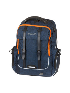Рюкзак Walker Wizard Academy Dark Blue Melange, 32x46x18 см Walker