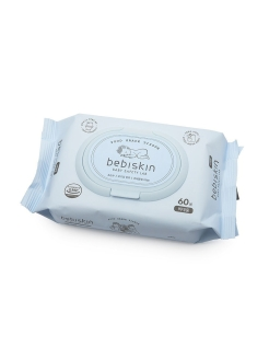 Влажные салфетки Food Grade Tissue Bidet 60sheets BebiSkin