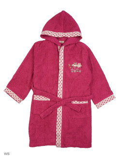 "Bathrobe ""Little Bird"" Ecocotton"
