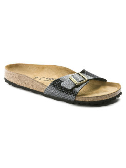 Биркенштоки Madrid BF Magic Snake Black Regular BIRKENSTOCK