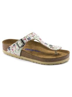 Пантолеты Gizeh SFB BF DD Meadow Flowers Beige Regular BIRKENSTOCK