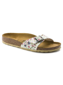 Биркенштоки Madrid BF DD Meadow Flowers Beige Regular BIRKENSTOCK