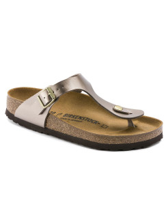 Пантолеты Gizeh BF Electric Metallic Taupe Regular BIRKENSTOCK