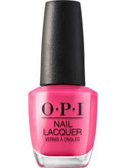 Лак для ногтей NLH59 Kiss Me On My Tulips OPI