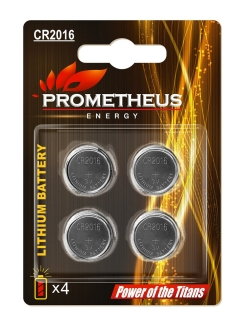 Батарейка PROMETHEUS ENERGY CR2016 3V 155mAh Prometheus Energy