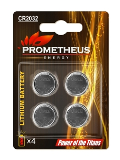 Батарейка PROMETHEUS ENERGY CR2032 3V 210mAh Prometheus Energy