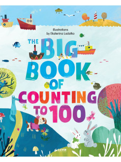 English Books. Clever Big Books: Big Book of Counting to 100 Издательство CLEVER