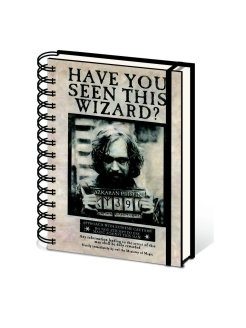 Ежедневник: Harry Potter (Wanted Sirius Black) A5 Wiro Notebooks Pyramid International