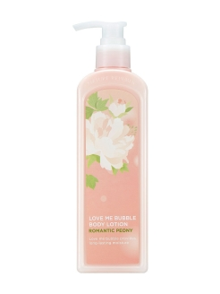 Лосьон для тела Love Me Bubble Body Lotion Romantic Peony NATURE REPUBLIC