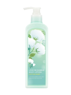 Лосьон для тела Love Me Bubble Body Lotion Cotton Baby NATURE REPUBLIC