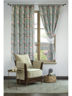 Interior curtains, curtains on the curtain tape Византия